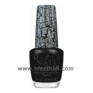 opi爆裂指甲油_OPI Katy Perry爆裂纹系列-指甲油 15ml E53黑色豹裂披风 美特好 www ...